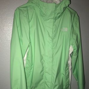 The North Face Women's Rain Jacket S mint green